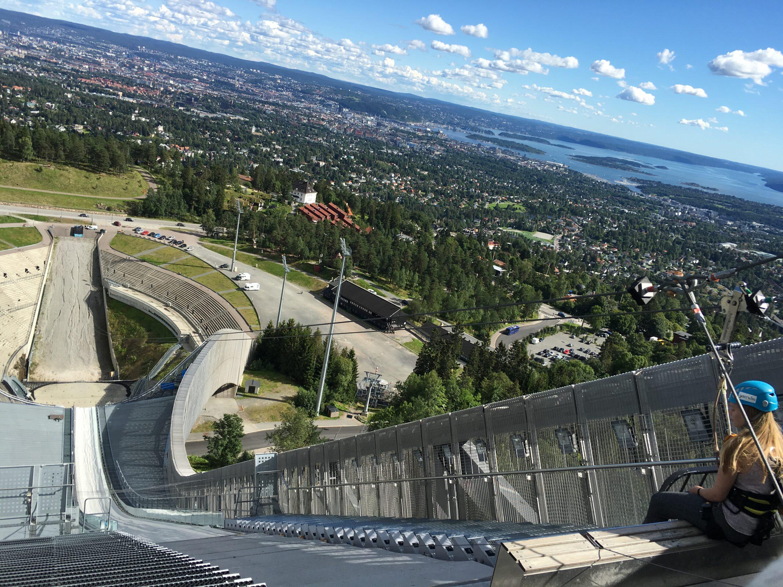 Oslo holmenkollen ski area