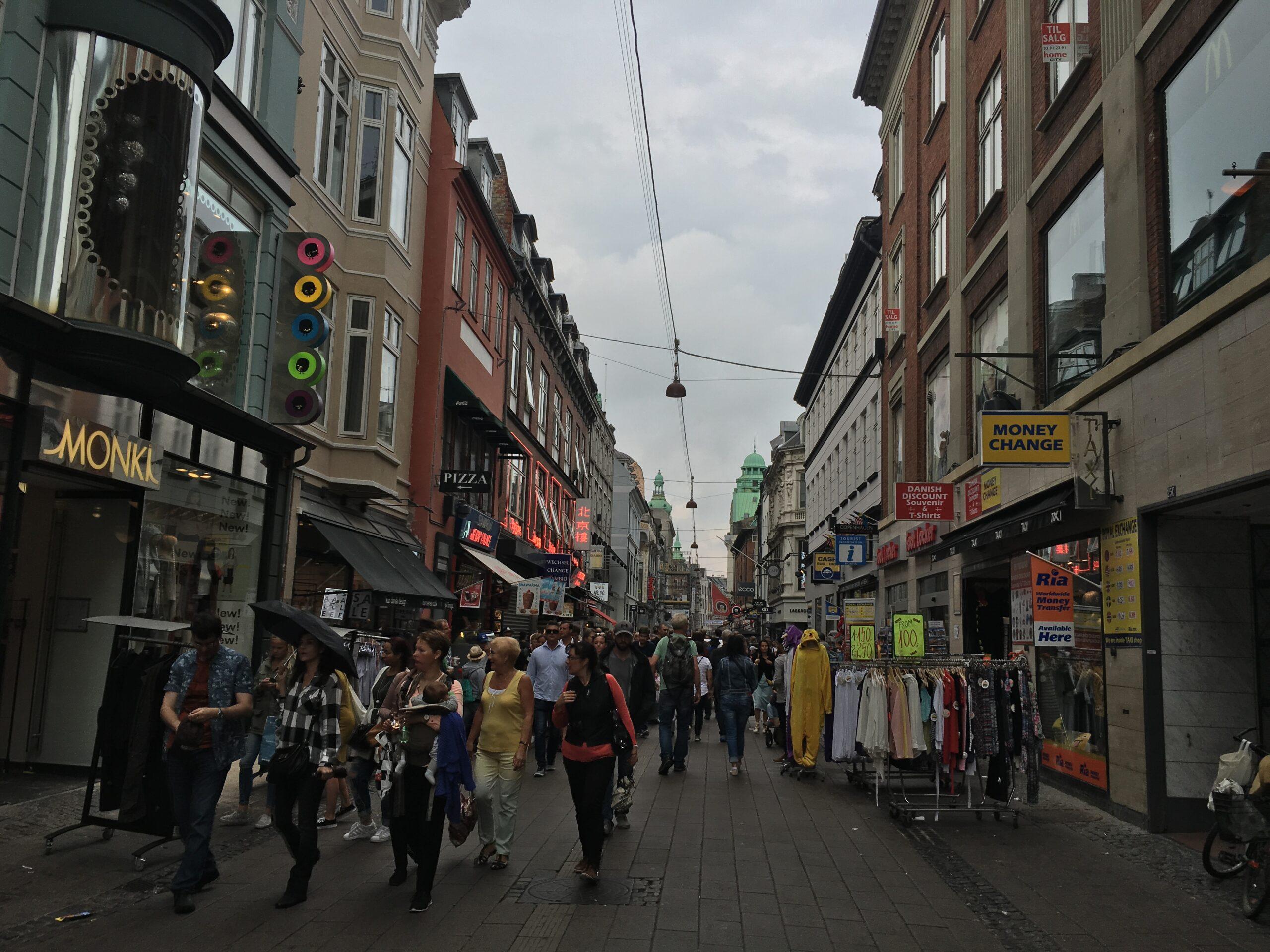 Danimarka - KOPENHAG /STROGET CADDESİ