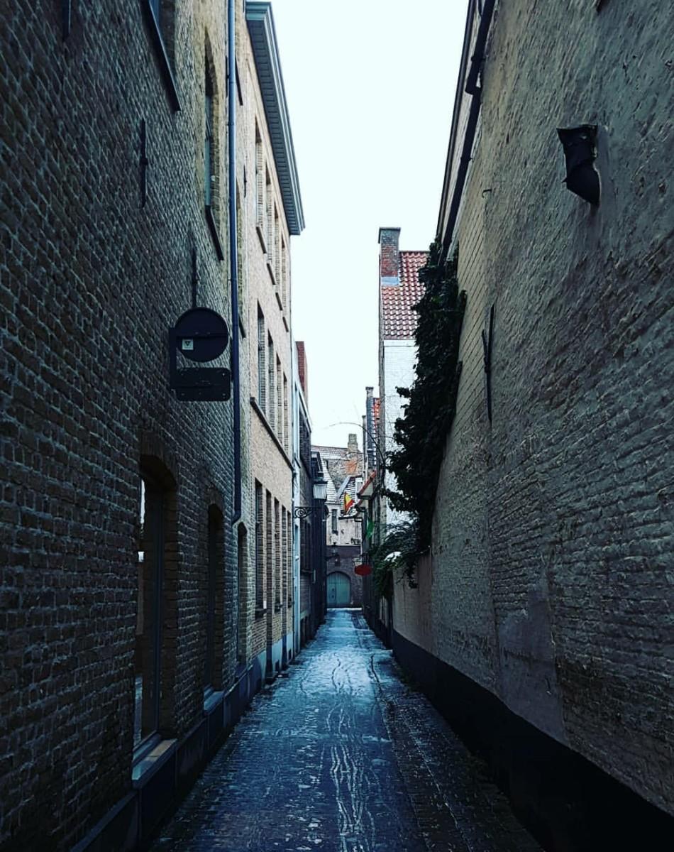 Brugge Ara Sokaklar
