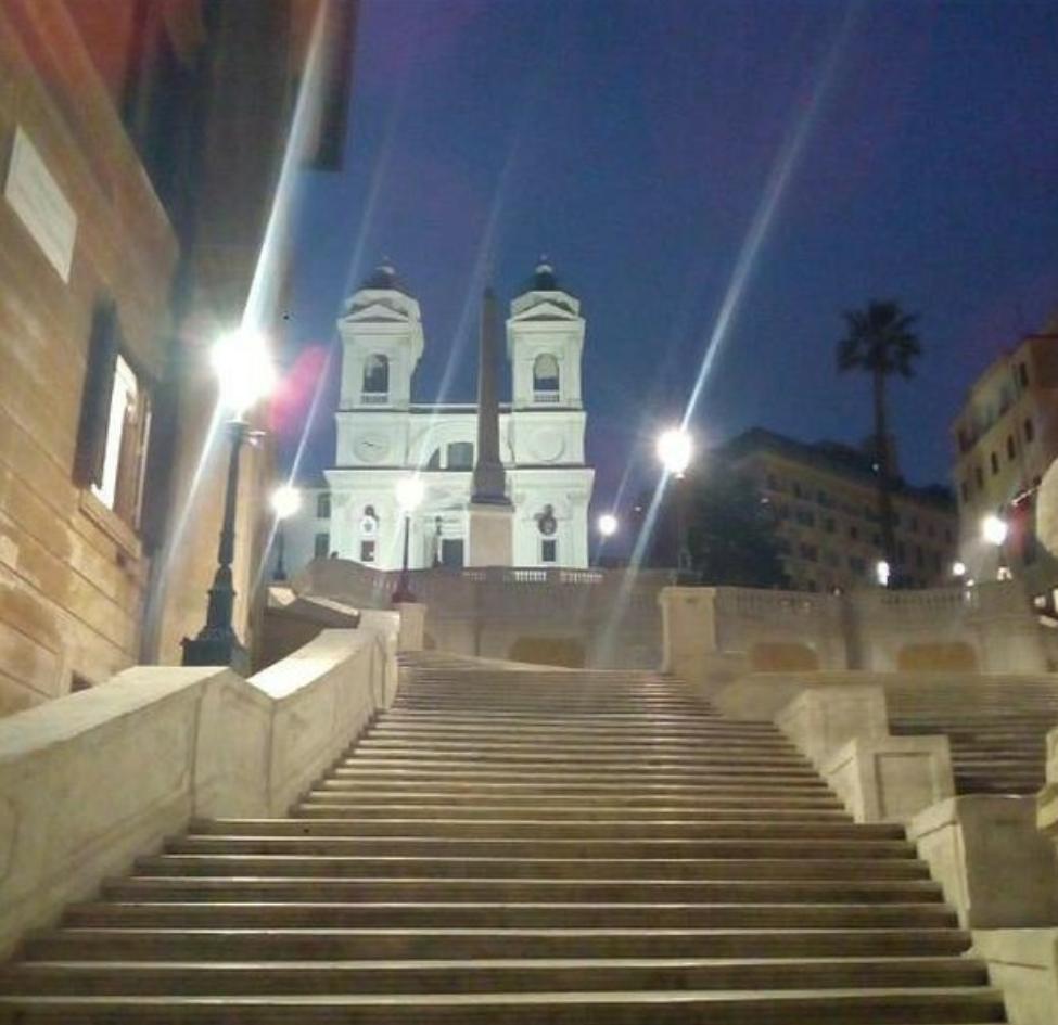 Piazza Di Spagna-İspanyol merdivenleri photo:gianluca_roma1991