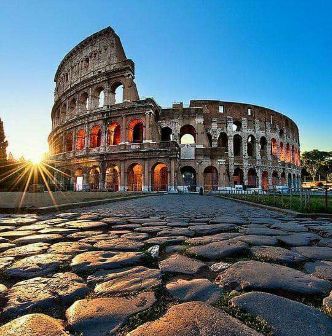 Roma - Collesium Dış Görünümü