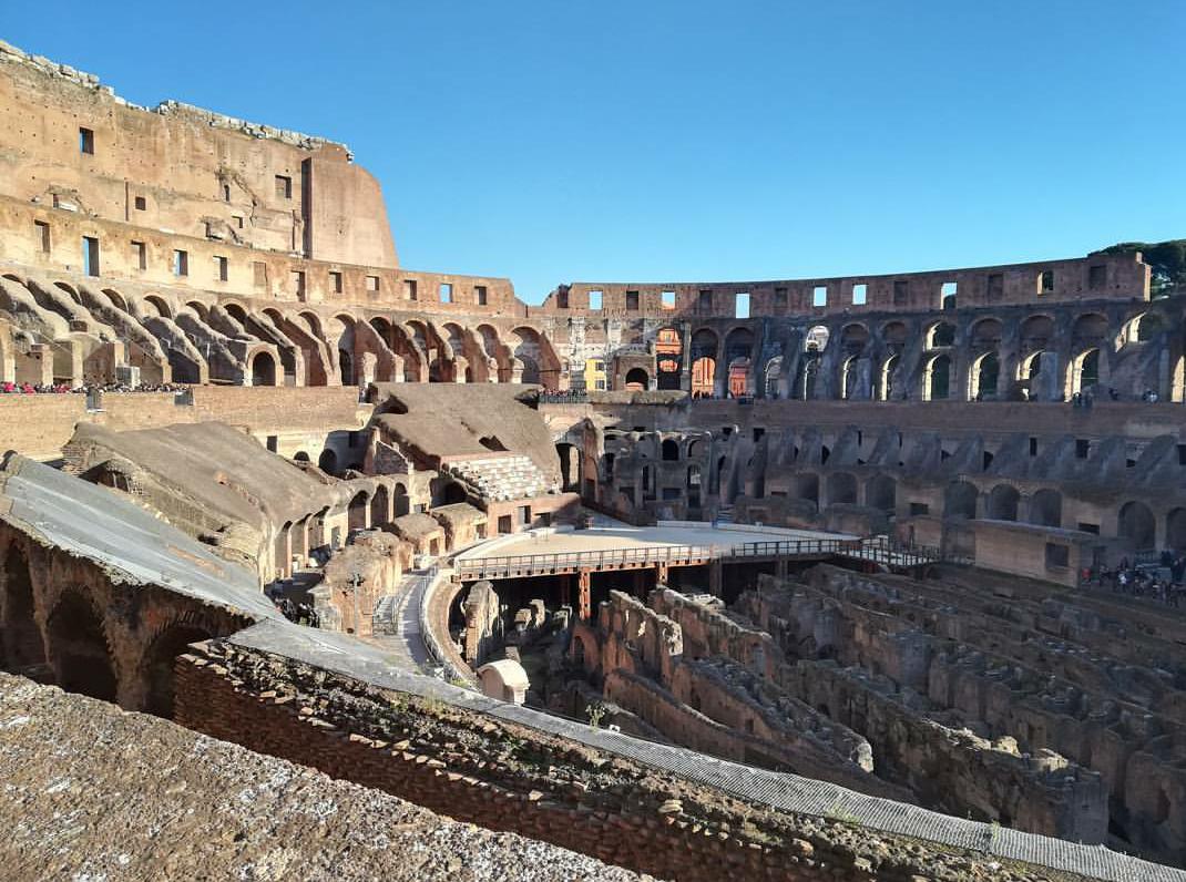 Roma - Collesium İç Görünümü