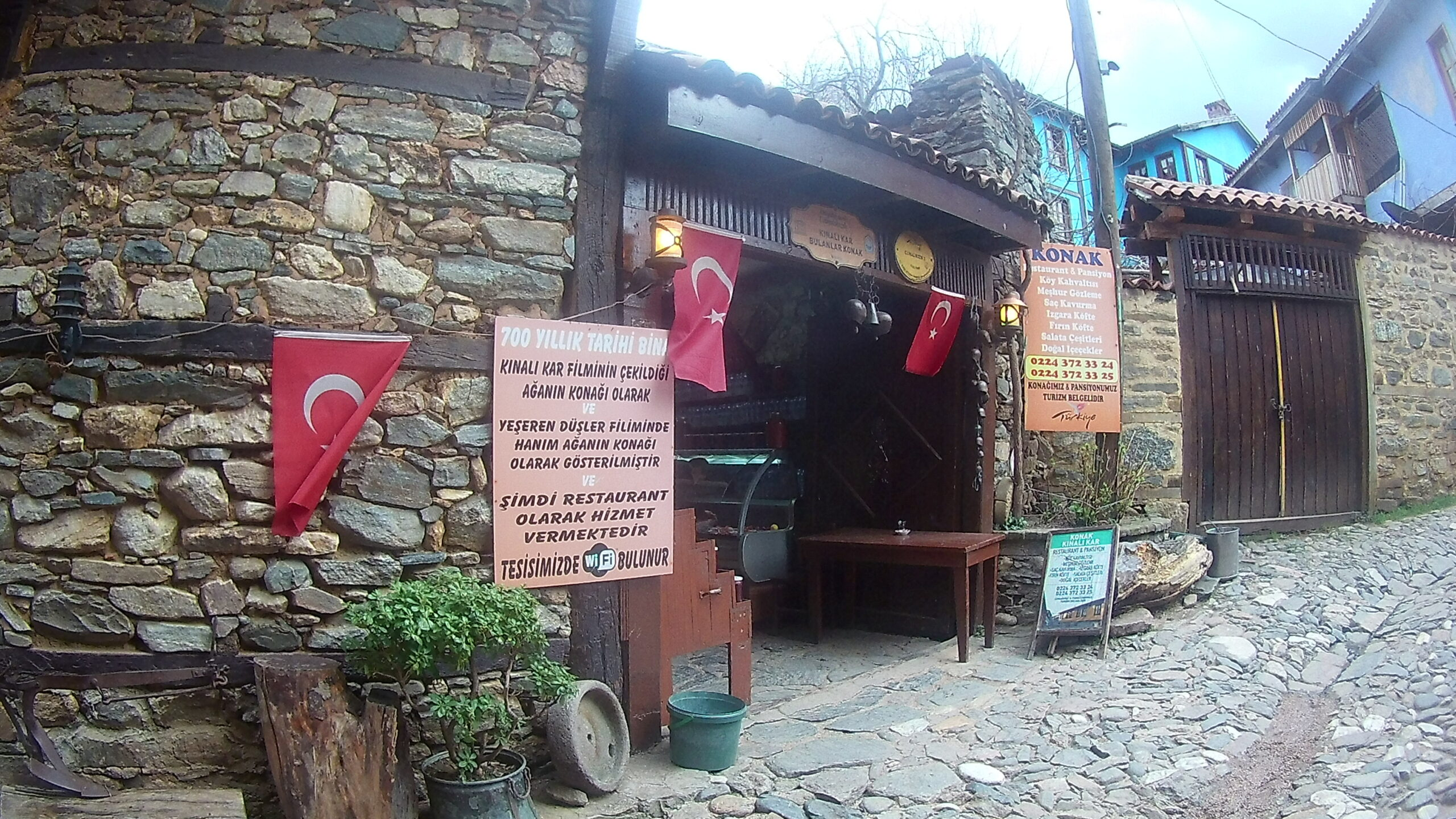 Cumalıkızık - Kınalı Kar Filminin Çekildiği Evlerden biri