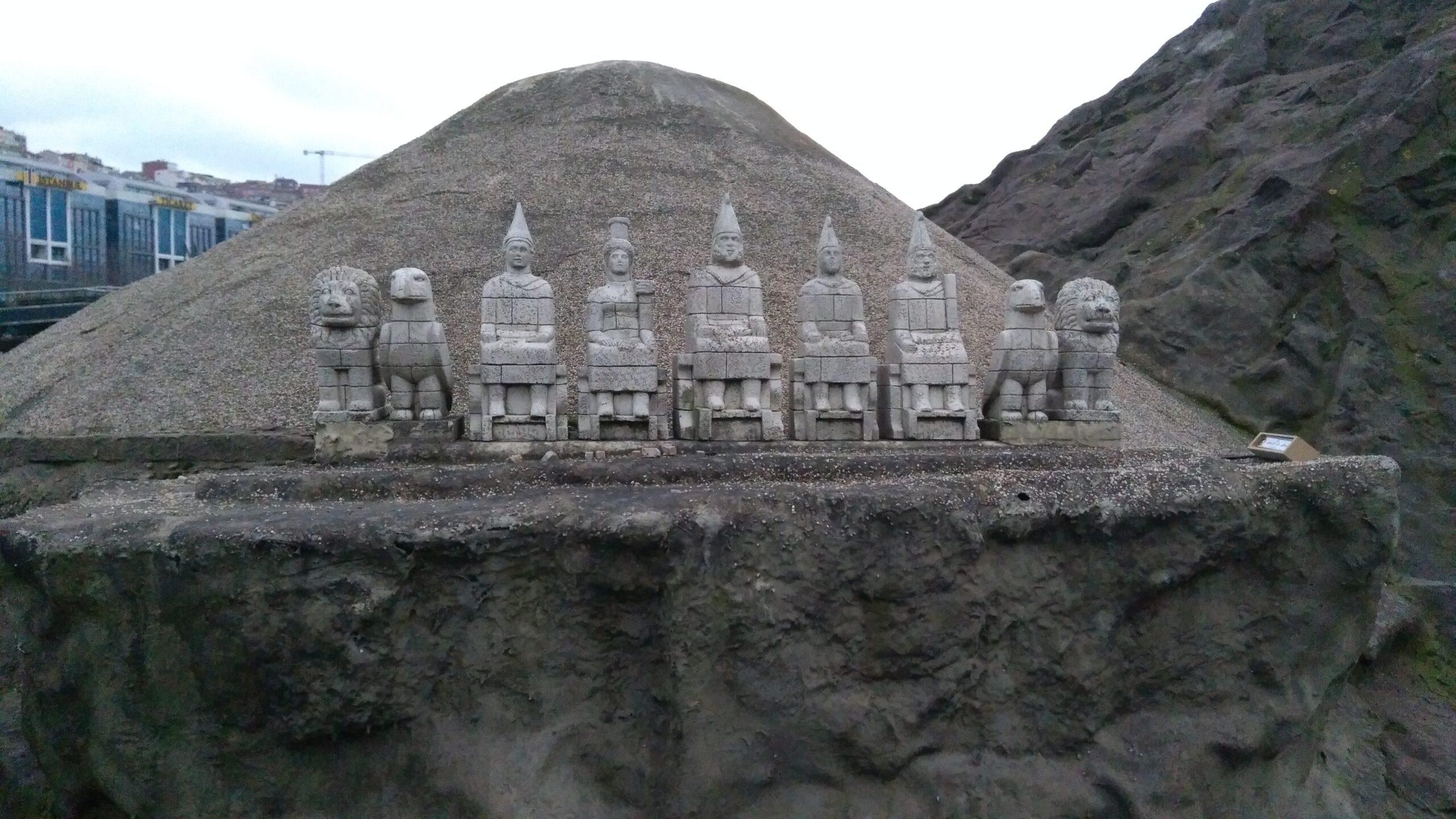 Miniatürk Adıyaman Nemrut Heykelleri