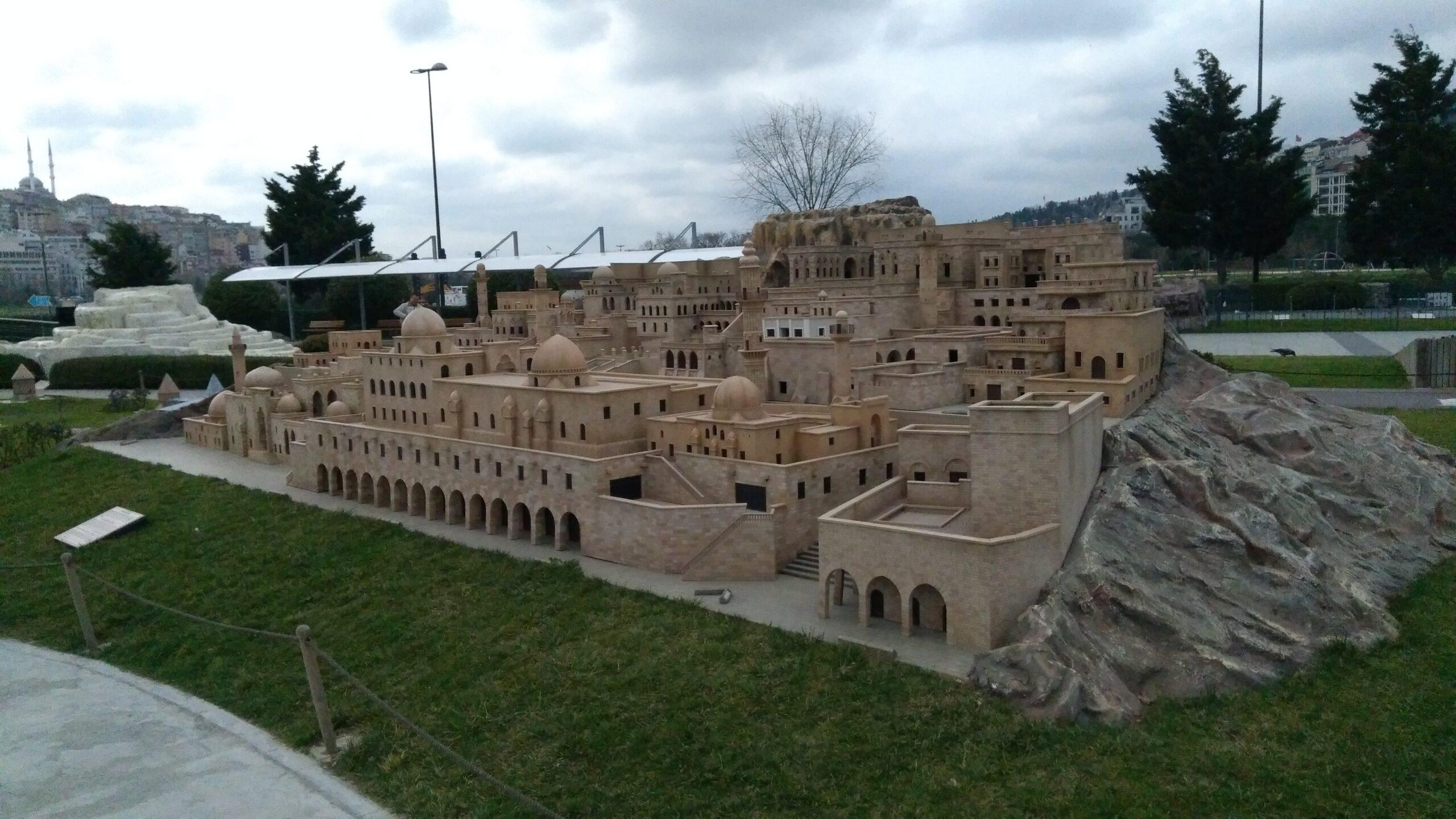 Miniatürk Mardin Taş Evleri
