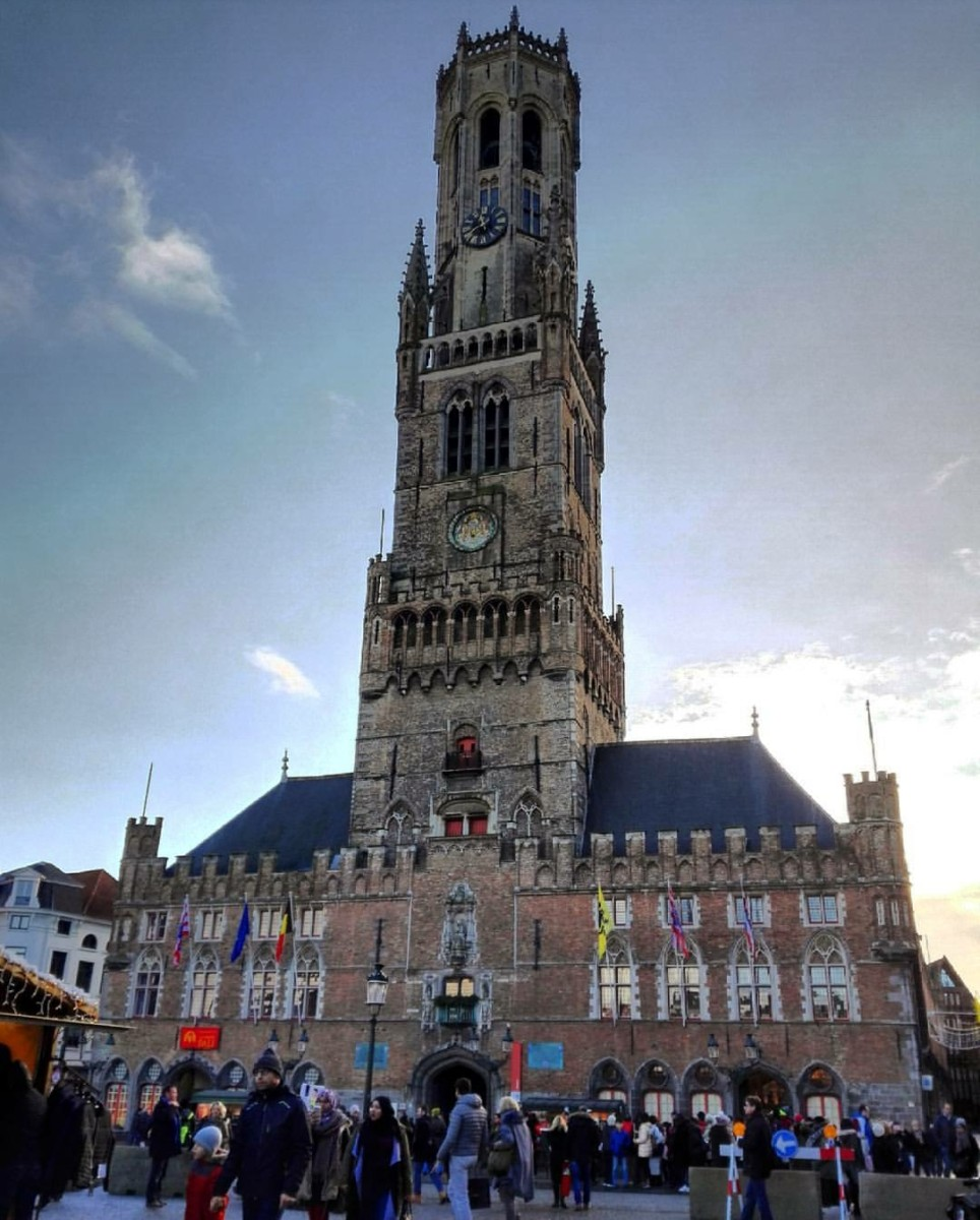 Belfort/Belfry Çan Kulesi