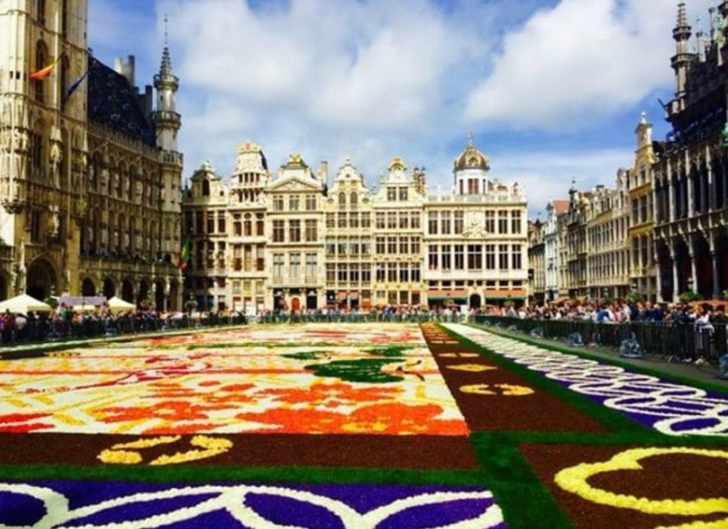 Brüksel Çiçek Festivali