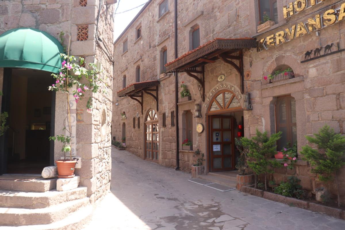 Assos Antik Liman Sokaklar