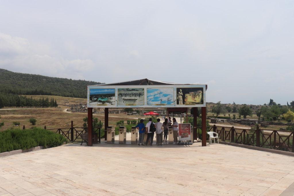 Pamukkale - Hierapolis Antik Kenti Giriş