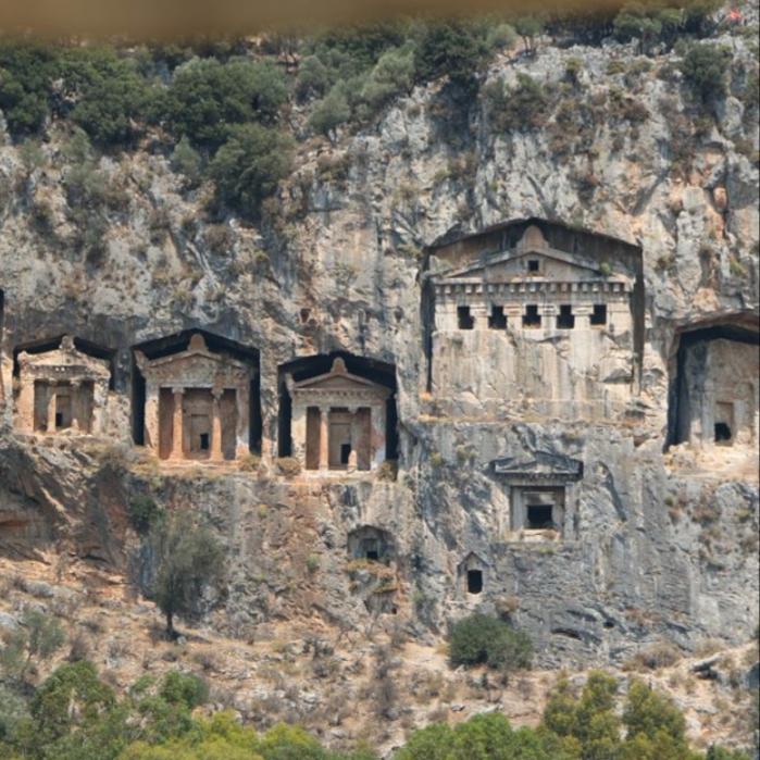 Fethiye Kral Mezarları